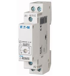 instalační relé 230/16A 10kA Z-RE230/16 S Eaton-signal.Led ,i ruční ovlád.  ke spínaní bojlerů, EATON