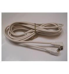 Účastnická šňůra 5m - kablo Blava, konektory IEC úhlové  vyhovuje DVB-T /není Čina