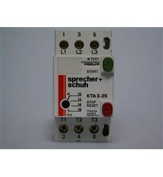 Motor.spoušť 10-16A KTA-3-25  Sprecher-shuh Švýcarsko