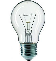 Žárovka 100W  230V E27 čirá