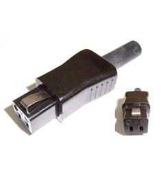 Vidlice přístr šňůrová 5813 (5823) -CENA 69,-Kč  vidlice na konci 10x10mm pro přístroje Retro možno obj. i kompletní šňůru 135,Kč