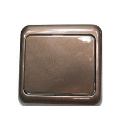 ..vypín.10A 230V hnědá metalíza- kvalitní produkt-neodírá se povrchová úprava- akční cena