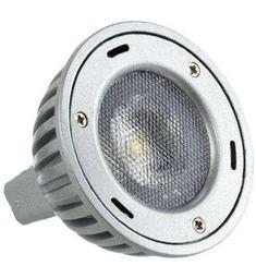HQ LED Lamp 3W GU10 STUDENÁ BÍLÁ doprodej, akční cena