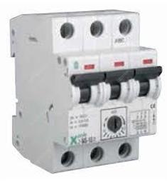 motorový spouštěč-jistič MS-1,6a/3  Moeller  Spínač motorů 3-pól, Ir=1.00-1.60A