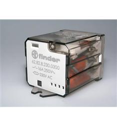 Relé FINDER typ - 62.82.8.230.0300; 16A  250V / 230V AC  2S není skladem