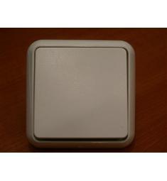 Vypínač č.6 ELSO, pod omítku, bílý