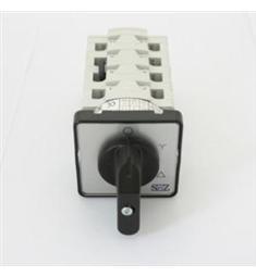 s25  25A vačkový spínač-přepínač 3P  Y/D sez