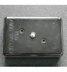 nulový můstek 63A 6236-30 do 16 CU 500V na keramice, plomb. Doprodáno