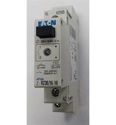 instal relé 230V 16A 1P Z-R230/16-10 Eaton,1x zap. kont. signaLLed, možnost ručního ovlád.bojlery a pod.Akční cena