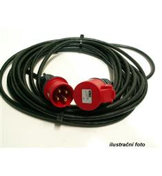 kabel prodl. 10m guma 5x1, 5x16A /380V včetně 5pól. koncovek, v akční ceně