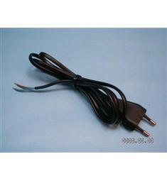Flexošňůra 1,5m černá s odrušovacím filtrem pro výrobky se spínaným zdrojem