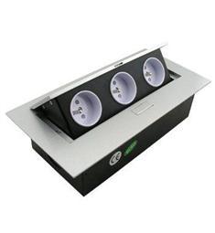 Výklopná zásuvková lišta 3x 230V