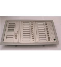 Zvonkový panel TESLA 22 tlačítek FN21457/S1 včetně audio modulu AL provedení