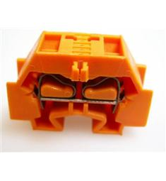 WAGO  262-336 řad. svorka dvoupol. oranžová