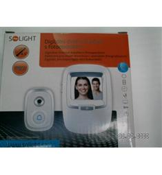 dveřní kukátko s fotoaparátem a zvonkem, záznam na SDkartu 128Mb, až 1500 foto